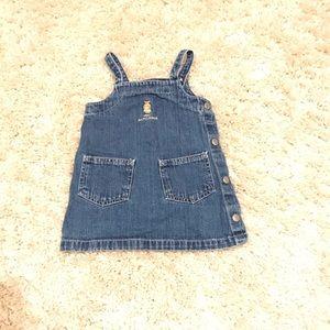 Girls Ralph Lauren 12-18 Month Jean Dress